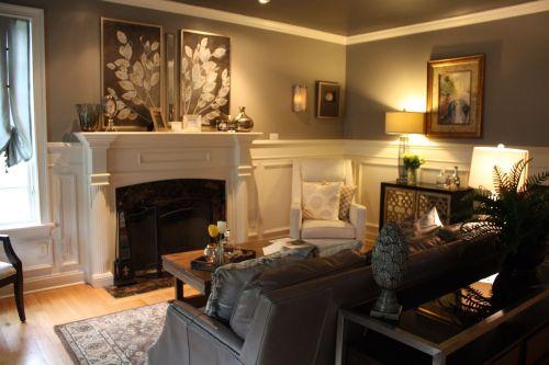 Medium Of Elegant Traditional Living Rooms