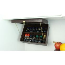 Small Crop Of Pull Down Spice Rack