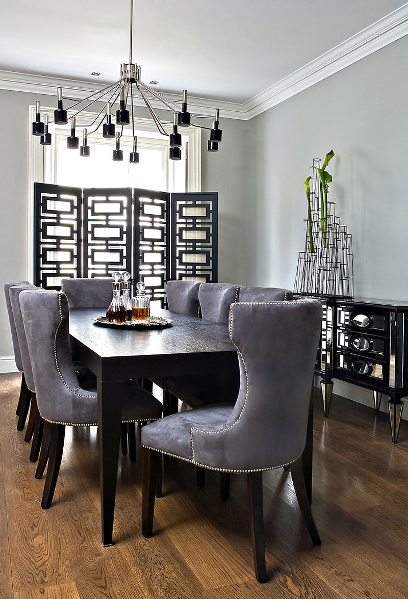 hyde park townhouse by shh architects gray kitchen table