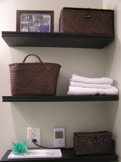 Small Of Small Shelf For Bathroom Wall
