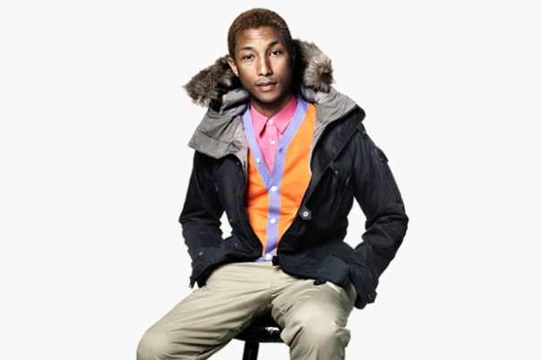 Pharrell Williams Featured in the 2012 December Issue of American Vogue