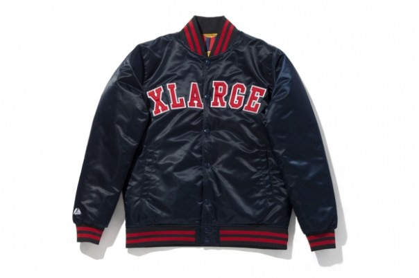 XLarge x Majestic Reversible Baseball Jacket