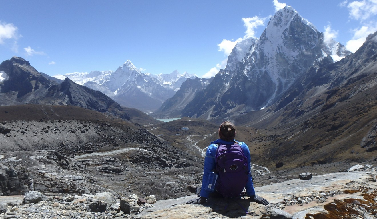 The Himalayas: challenging terrain for railway engineers. Photo: Marcelle Barnett & World Expedition