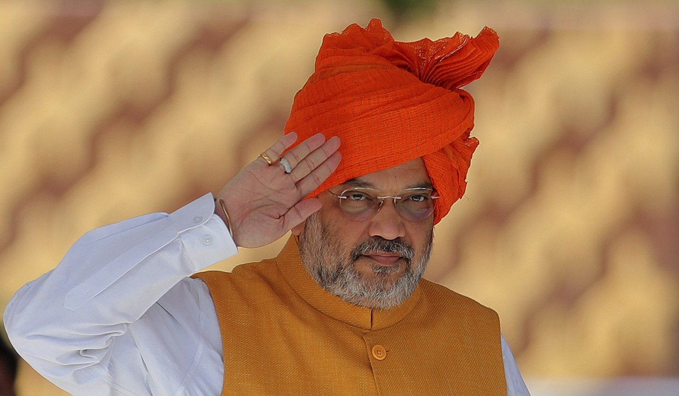 Indian Home Minister Amit Shah. Photo: AP