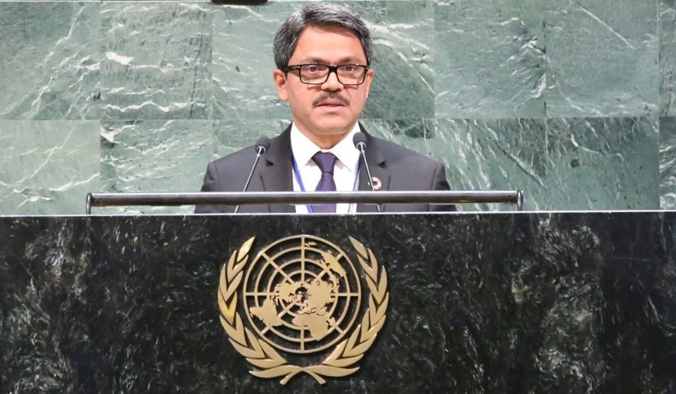 Bangladesh's Minister of State for Foreign Affairs Mohammed Shahriar Alam. Photo: Twitter
