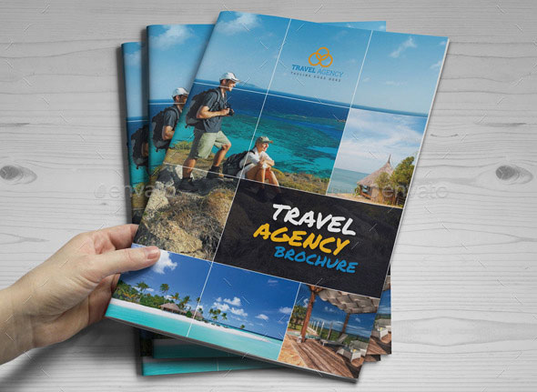 travel brochure cover design   Selo l ink co travel brochure cover design