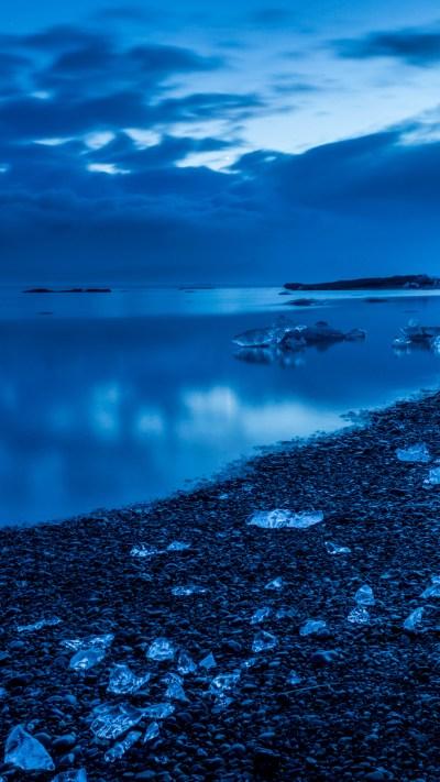Icy Land Beside iPhone Wallpaper - iDrop News