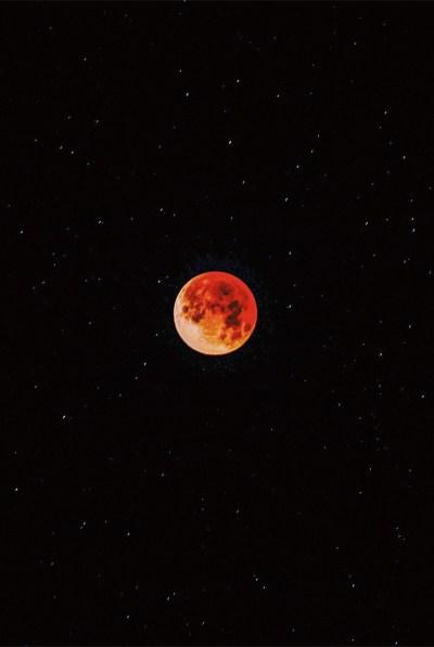 Blue Blood Moon iPhone Wallpaper - iDrop News
