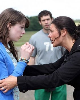 EMMERDALE  Hannah s caravan of love   Daily Star Hannah is confronted by mum Moira after storming out of Andy s caravan