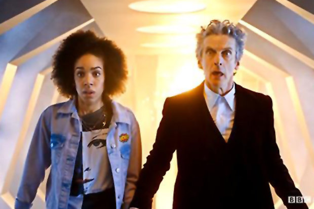 The Doctor and his new sidekick