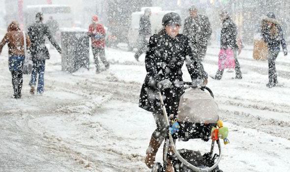 Britain is facing up to 100 days of heavy persistent snow this winter