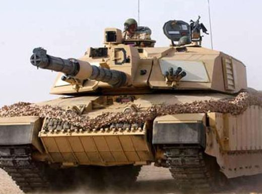 The British Army has 227 Challenger 2 main battle tanks