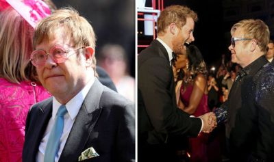 ROYAL WEDDNG: Step forward Elton, still standing and there ...