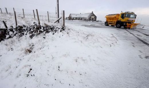 Councils preparing gritters for certain areas