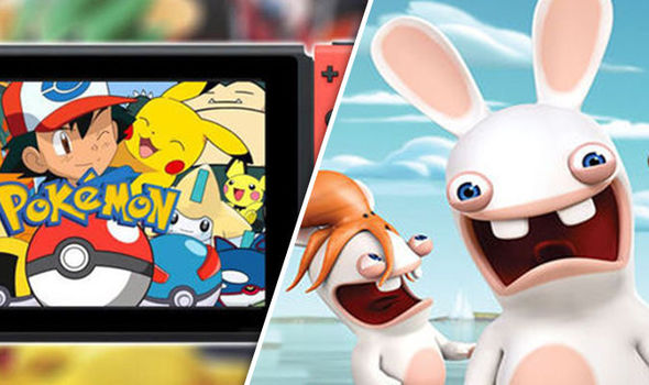 Nintendo Switch Pokemon gameplay news   Rabbids developer drops     Pokemon Nintendo Switch Rabbids