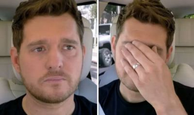 Stand Up To Cancer: Michael Buble in tears over son's cancer diagnosis | TV & Radio | Showbiz ...