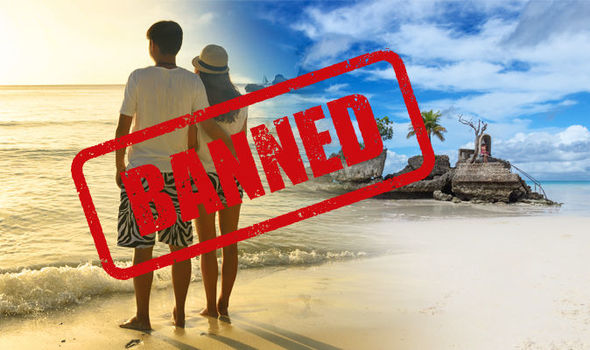 Boracay  Island faces tourist ban after President discovered     Boracay  President bans tourists