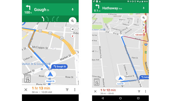 Google Maps   Update your app to avoid another speeding ticket     The update has been spotted by many Android users already