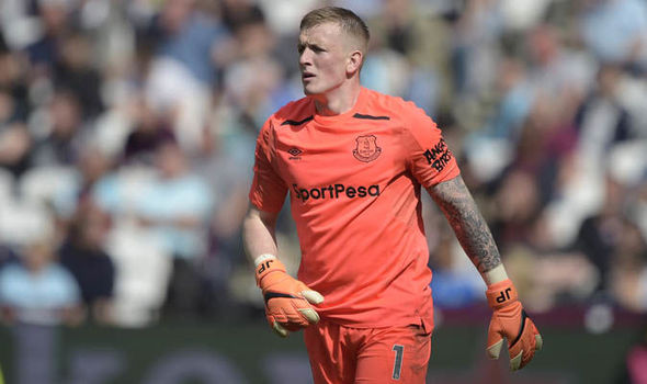 Chelsea transfer news  Blues make Jordan Pickford decision amid     Chelsea want Jordan Pickford to replace Thibaut Courtois  Image  Getty