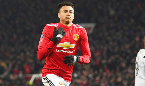 Man Utd news  Ander Herrera provides Jesse Lingard verdict after win     Jesse Lingard celebrates scoring against Derby