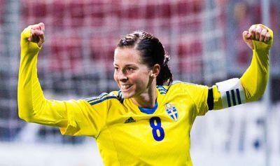 Shot-shy Lotta Schelin makes goal vow for Sweden | Football | Sport | Express.co.uk