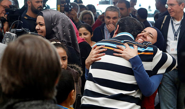 migrants Rome
