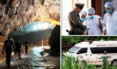 Thai cave rescue update LIVE: Divers save 12 boys AND coach from cave - Operation latest | World ...