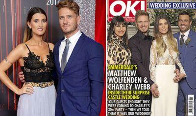 Emmerdale cast news: Charley Webb revealed secret wedding ...