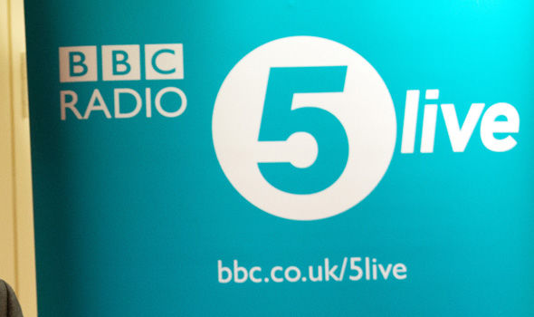 Radio 5 Live Latest News  Broadcasts and Shows   Express co uk