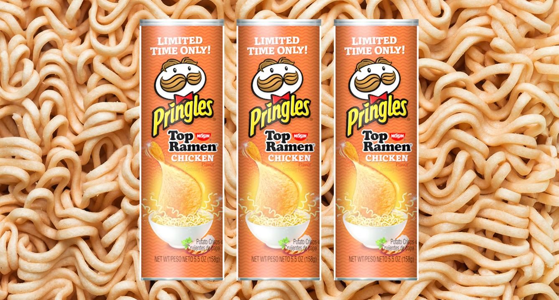 Multipurpose Pringles New Ramen Flavor Is Ultimate Snack Mixing Ramen Flavors Ramen Noodles Flavors nice food Top Ramen Flavors