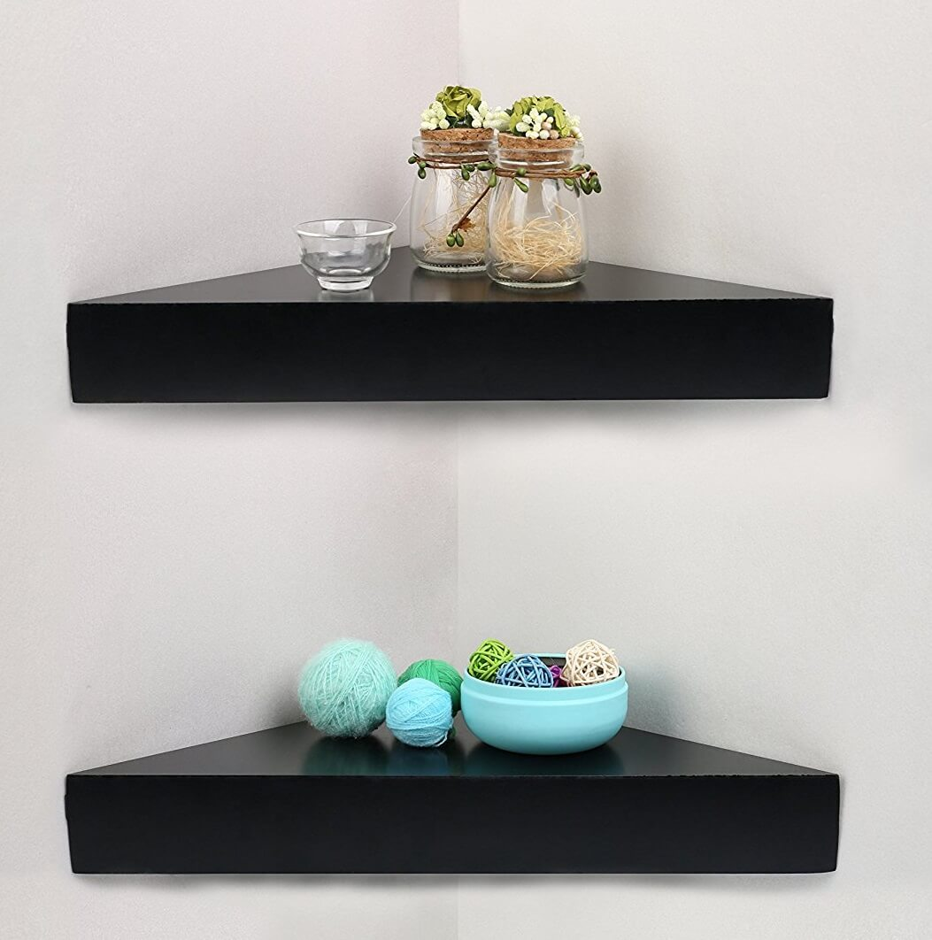 Fullsize Of Triangular Floating Shelves