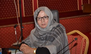 Mehla Ahmed Talebna, Director General of Cultural, Social and Family Affairs of the OIC. Credit: Courtesy of the OIC