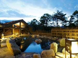 湯宿 季の庭(ときのにわ):≪廿三の湯≫「露天風呂」季の湯西