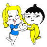 line stickers1568-sp