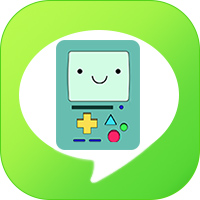 LINE_theme icon - adventure time