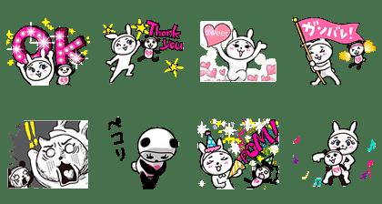 line sticker3193
