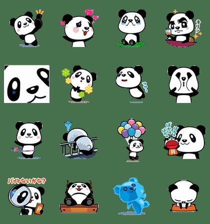 可爱panda,爵爵&猫奴 line 卡通明星免费贴图欣赏!