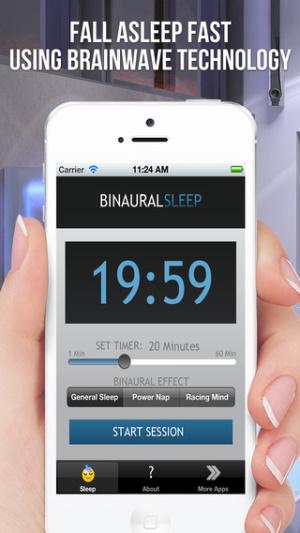 ios限免、限時免費軟體_Binaural Sleep Beats 3
