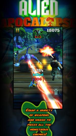 ios限免、限時免費軟體app遊戲-Alien Apocalypse X 2