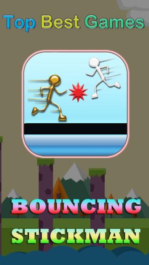 ios限免、限時免費軟體app遊戲-Bouncing Stickman 1