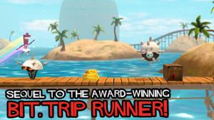 iOS限免、限時免費軟體app遊戲-BIT.TRIP RUN! 2