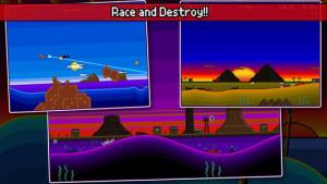 iOS限免、限時免費軟體app遊戲-Pixel Boat Rush 2