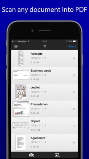 iOS限免、限時免費軟體app遊戲-SharpScan Pro + OCR 1