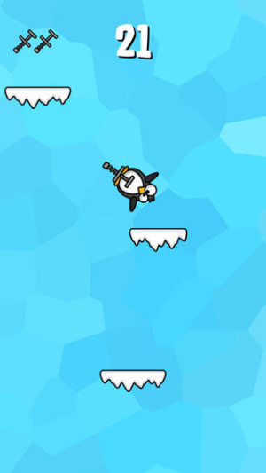 iOS限免、限時免費app軟體遊戲-Incredible Penguin 2
