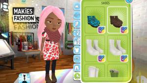 iOS限免、限時免費app軟體遊戲-Makies Fashion 2