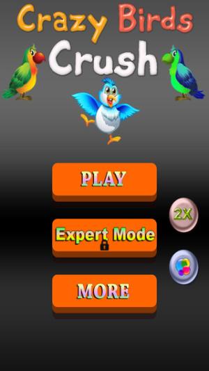 ios限免、限時免費軟體app遊戲-Crazy Birds Crush 1
