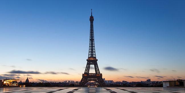 TOP4 Eiffel Tower 艾菲爾鐵塔(巴黎 法國)