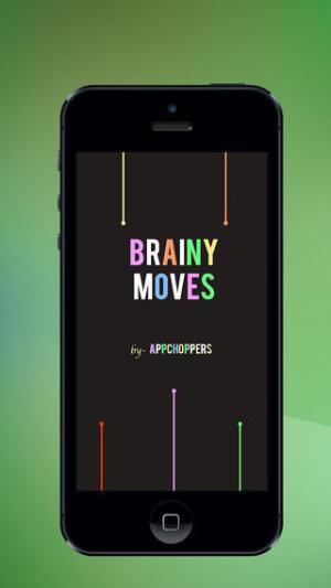 iOS限免、限時免費軟體app遊戲-Brainy Moves 1