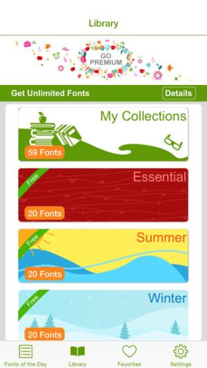 iOS限免、限時免費軟體app遊戲-EverFont PRO 1