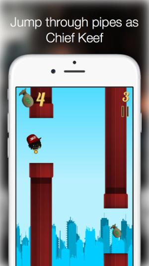 iOS限免、限時免費軟體app遊戲-Flappy Sosa 1